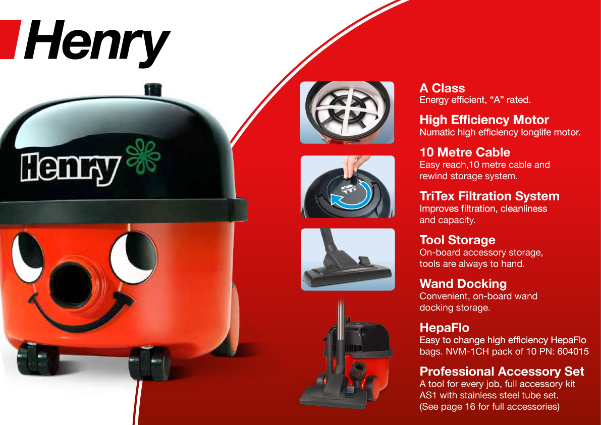Henry Commercial Vacuum Cleaners Save 33 Nqsupply